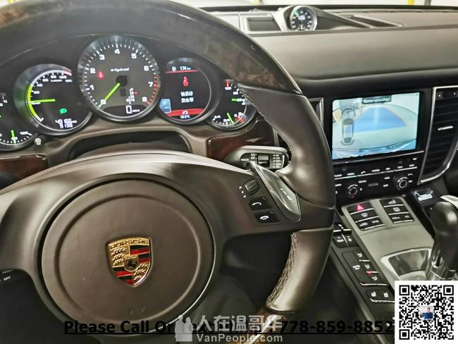 2014 Porsche Panamera S E-Hybrid,頂配,本地一手車,無事故