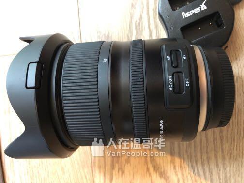 腾龙Tamron 24-70 F2.8 G2佳能口变焦镜头