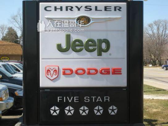 想买吉普车Jeep可以联系Ashley Dai Richmond Chrysler: 7789999270