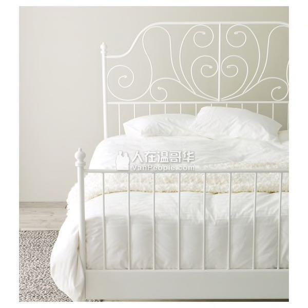 出售Ikea公主床king size床架
