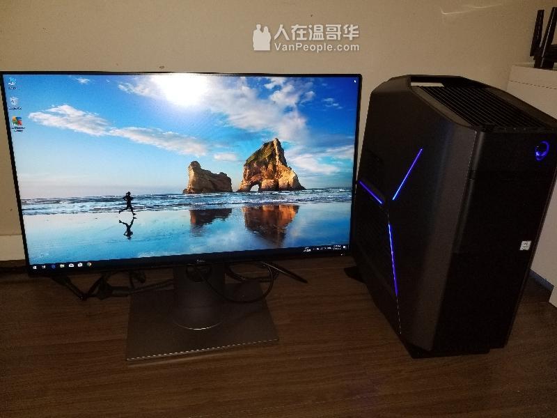 Alienware Aurora R6 +原廠24吋顯示器
