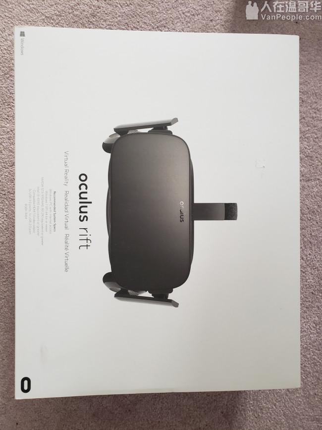 9成新 Oculus VR 出售