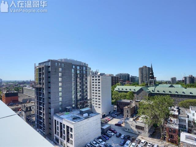 蒙特利尔市中心黄金地段公寓出售,步行至康大仅需三分钟!