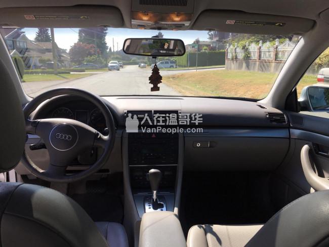 2002 奥迪A4 1.8T 保养良好,设备齐全