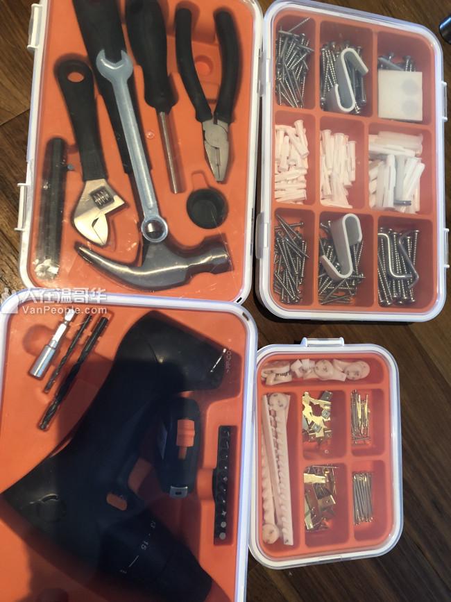IKEA工具,4盒全新50$,自提!