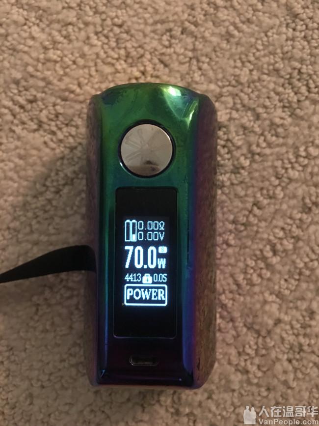 电子烟 Vape Device Mini Kin 2 触屏