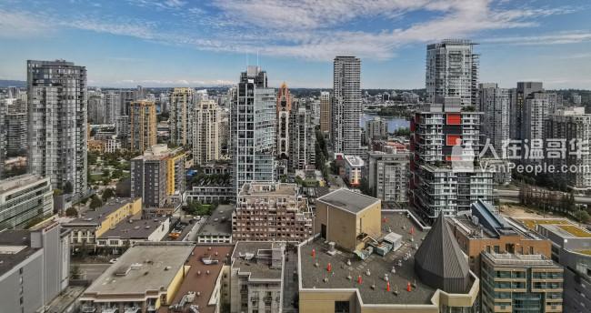 Downtown市中心全新两房两卫海景公寓出租