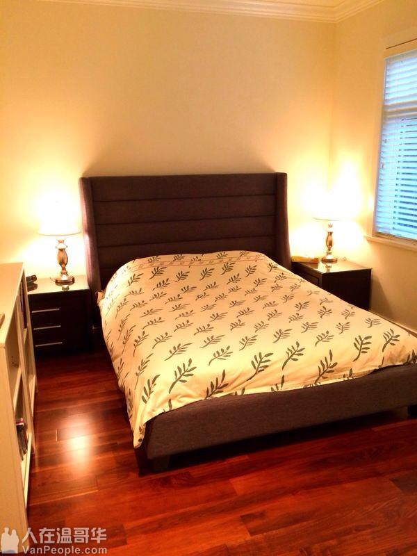 溫市西区全新獨立屋近POINT GREY, UBC收Home Stay,適合寄宿學生,包高速上网