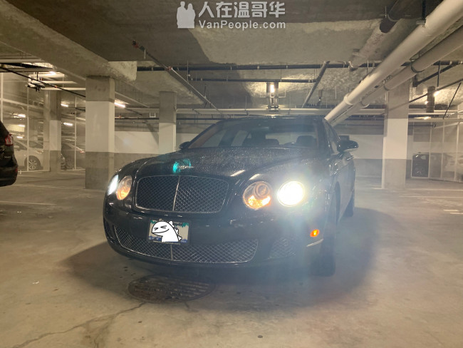 轉lease, 2009 賓利 Bentley Continental Flying Spur Speed
