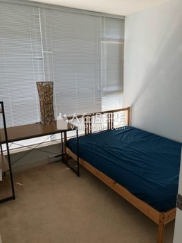 紧邻Richmond Center 2房2卫高层公寓,包家具!