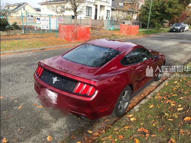 2015 野马 Mustang 2万7公里, $17000