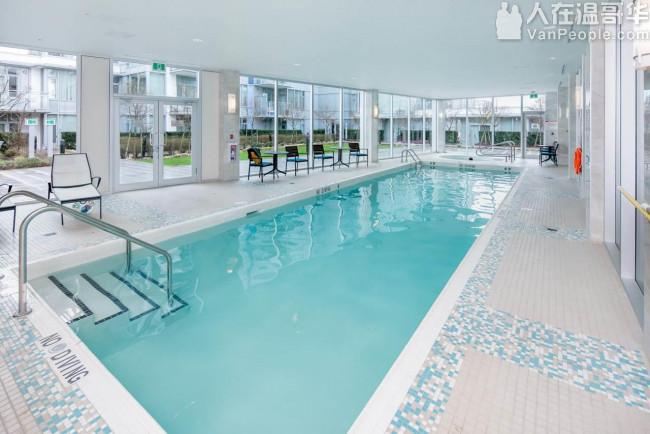 房主自售Richmond全新公寓楼(未入住):2室2卫+书房963sq.ft,楼层及朝向极好(15楼朝东南角屋);