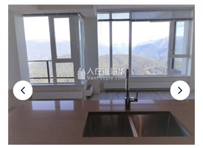 出租SFU山上新高层公寓8850主卧,倚山傍水,俯瞰SFU,拎包入住