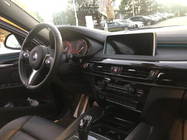 2016 X6 35i xline 顶配无事故 诚意出售