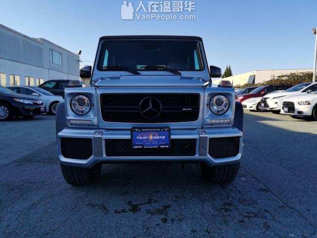 2016 Mercedes-Benz G-Class G63 新车到店啦