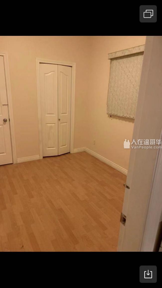 温哥华东区域多利45 内街一房一厅出租
