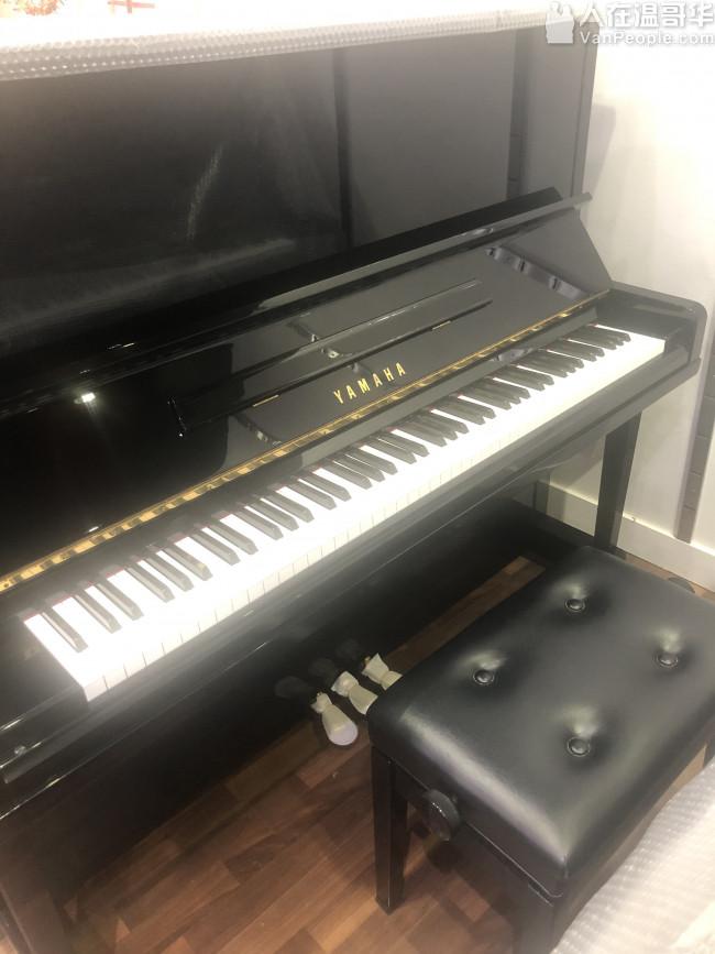 特价出售日本原产雅马哈U1U3钢琴 $3880起!包运费、琴凳、上门调音及五年保修!