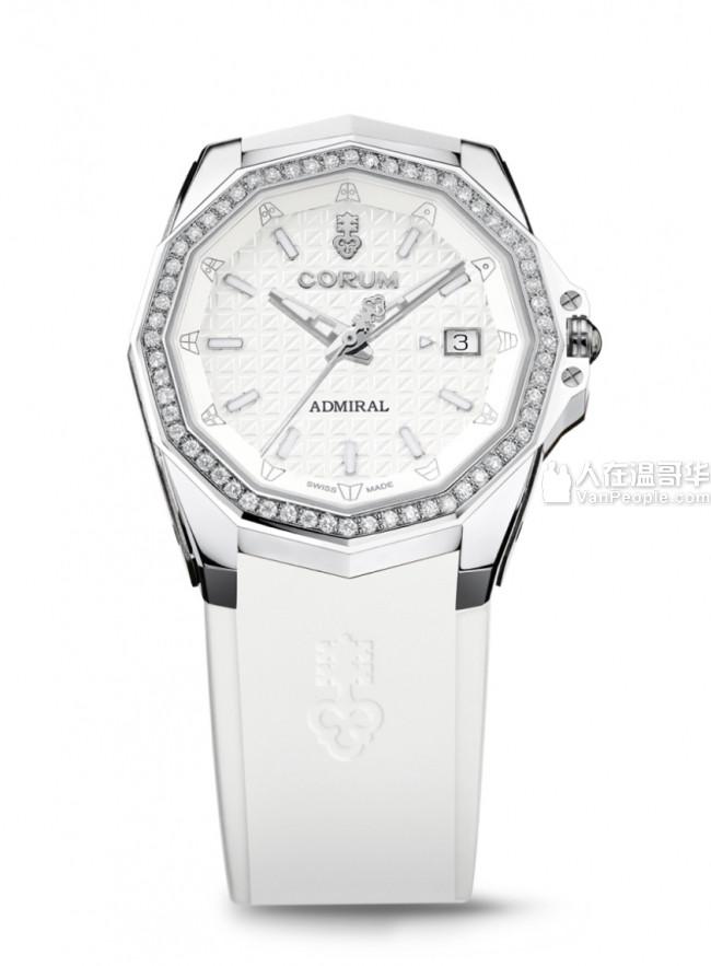 出售一款昆仑表2019年女士新款手表 Corum Admiral AC-ONE 38 Automatic Watch