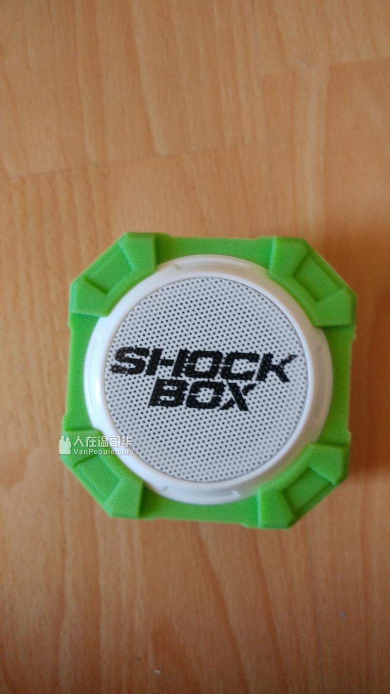 全新shock box 蓝牙音箱