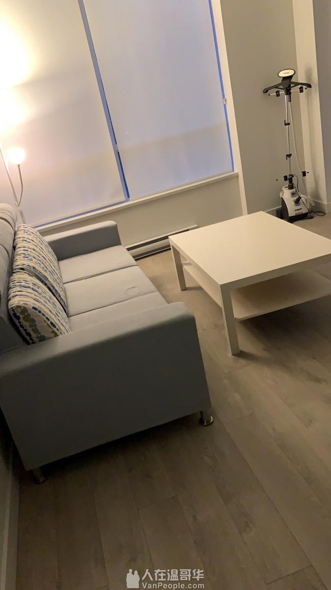 一年新完好沙发 无烟无宠 现因搬家喜欢的100拿走