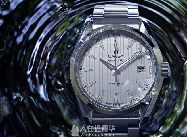 出售/置换 保真Omega 欧米茄 Aqua Terra Quartz 150M 38.5mm男装手表