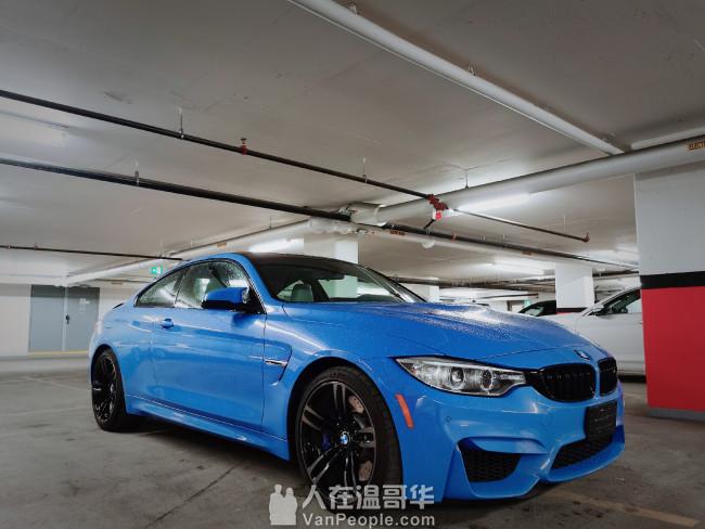 2015 BMW M4 COUPE 本地一手车主,无事故,低公里数,炸街小神器