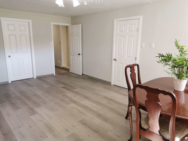 温西Kerrisdale全新装修整栋出租也可以上下楼分租,均独立出入