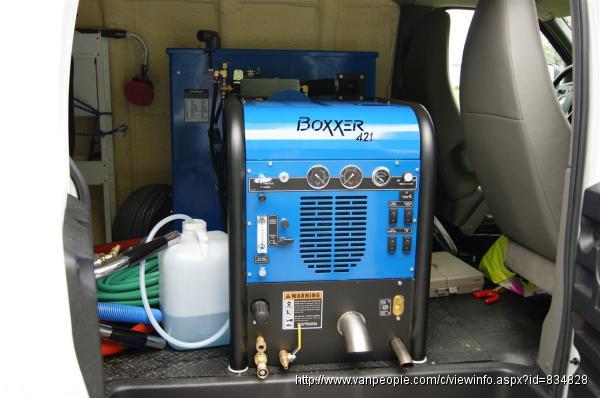 高朋地毯清潔-配备美國最先進車載大型动力高溫高壓地毯蒸洗系統