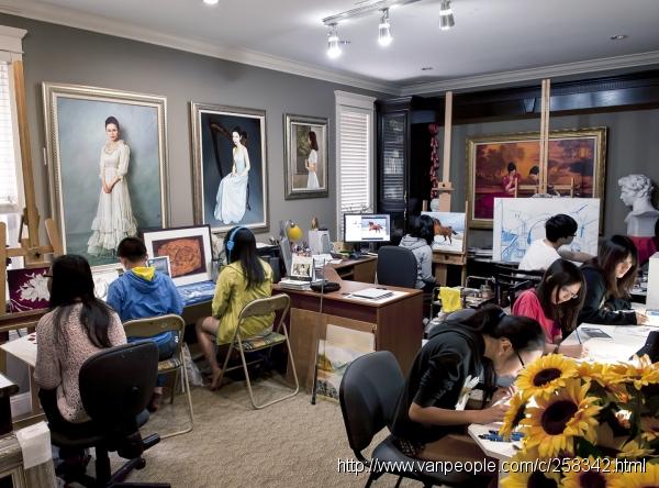 菲莎画苑 - 国际知名油画家亲自授课,30年素描、水彩、油画及创作课教学经验