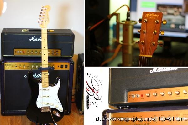温哥华吉他教学BZ Guitar Studio招收民谣木吉他,指弹,电吉他学生(高清网课)