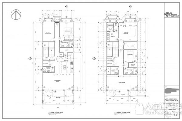 牡丹建房设计 -提供新房设计,Laneway/Coach House,旧房改造 ,加建等图纸