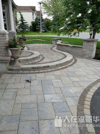 【BDK乐桐园林工程】诚信服务,免费估价!铺砖,庭院维护,石台翻新,清理雨槽,服务全面高效