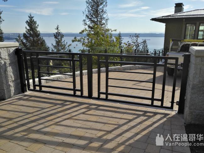 承接花园围栏,扶手,大门,防盗铁门铁窗,各种铝铁焊接修理,多年经验,手工好价格低,诚信公道