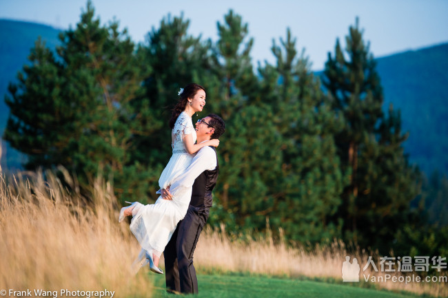 Frank Wang 摄影----温哥华婚礼、婚纱、家庭、创意摄影, 兼具西方流行与传统风格