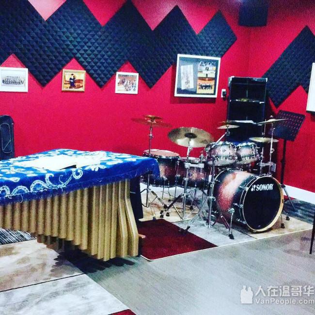 专业架子鼓音乐工作室招生   / 保证温哥华最好师资,一流架子鼓设备,教材,音响