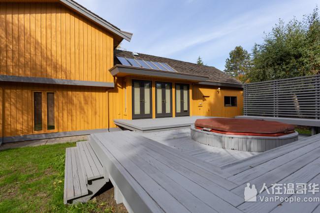 列治文中心地带House出租 长短租均可。日式现代设计风格 环境舒适优雅