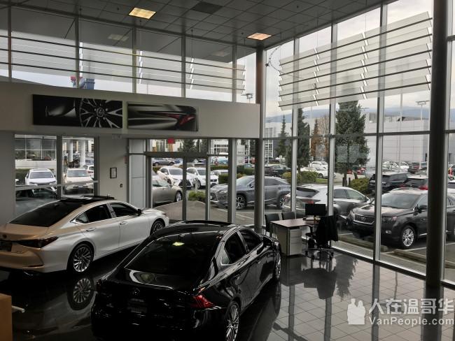 JP Lexus 雷克萨斯为大温地区提供完美的价格 / 最低的利率 / 最好的服务 / 舒适的环境!