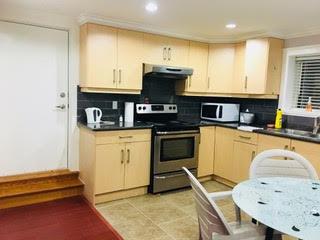 温哥华Joyce天车站附近,两室套间分门出入带全套家具,拎包入住,欢迎长短租,1600/月包水电暖网