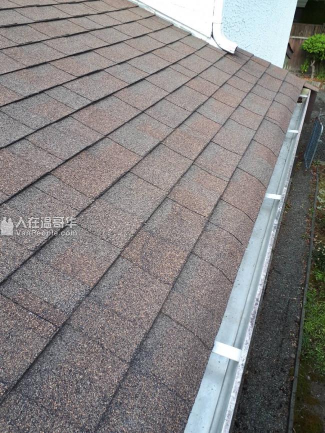 专业 清洗屋顶, 清洗雨水槽, 更换屋顶,外墙油漆等