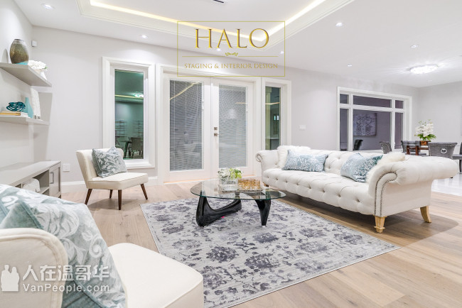 Halo Staging and Interior Design 房屋翻新设计-售前装饰-摄影绘画
