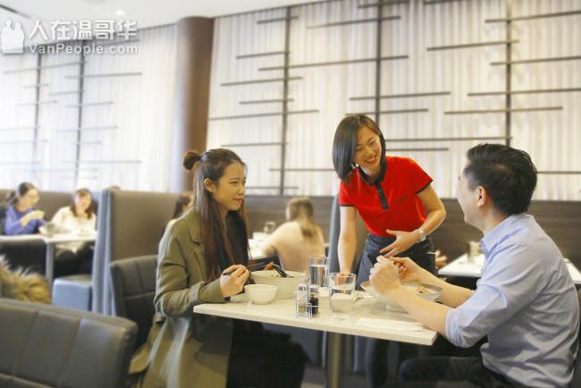 溫哥華紅牛麵館誠徵廚師及服務員