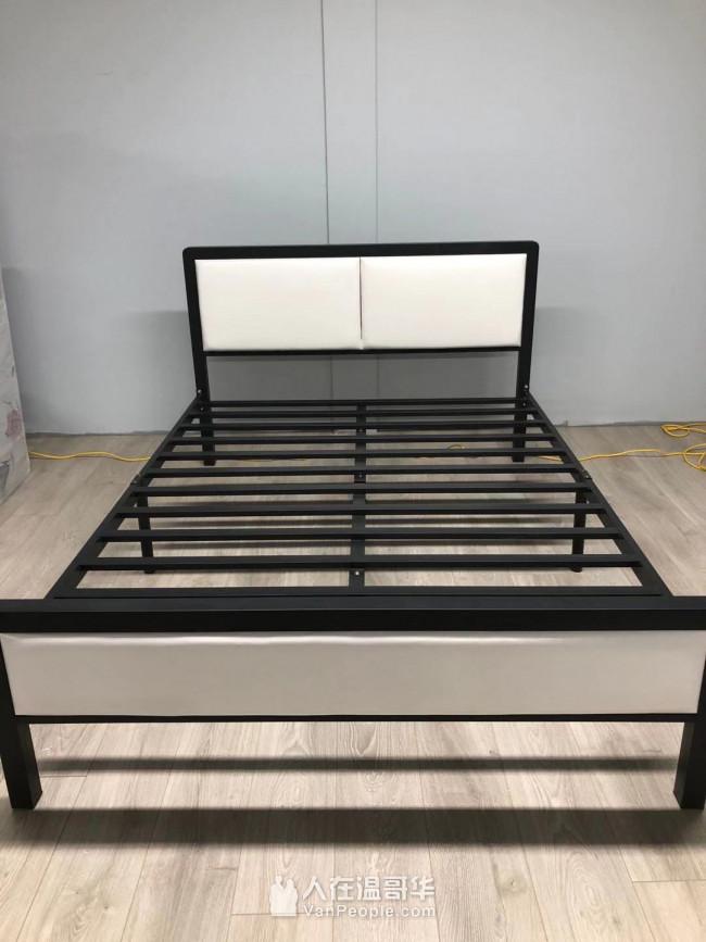 双面床垫150,床架210。 全新卧室,客厅家具,批发与零售