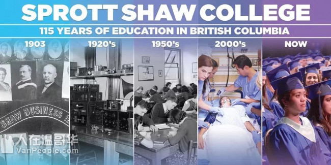 SprottShaw College+City U,2年半本科毕业拿3年工签,中国教育部认证,0语言