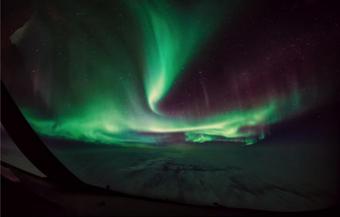 北极光将照亮加拿大多数地区的夜空!