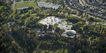 伊丽莎白女王公园将搭设190米长空中滑索!