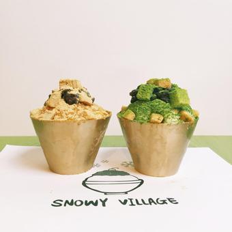 列治文火得不要不要的甜品店——Snowy Village准备在DT开分店啦!