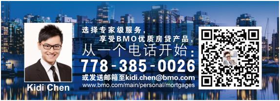 BMO银行房贷专家Kidi Chen - 折扣利率 专家建议 快捷服务 是您置业的首选