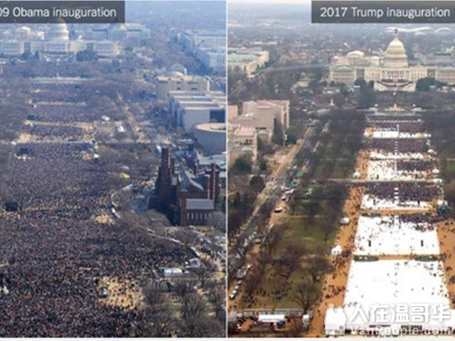 白宫指责媒体可耻 刻意低估观礼人数