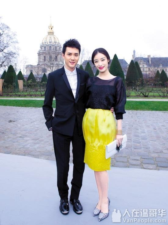冯绍峰倪妮承认分手 两人家境差距大