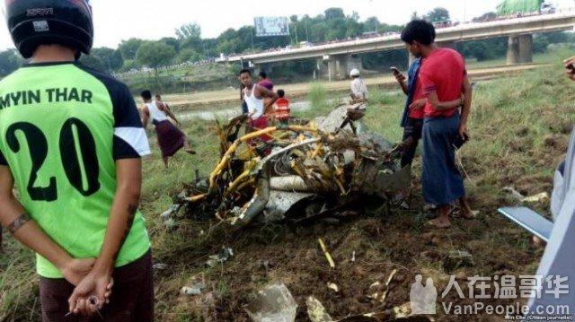 中国制造的战机在缅甸再次坠毁